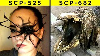 The Most Terrifying SCPs Explained