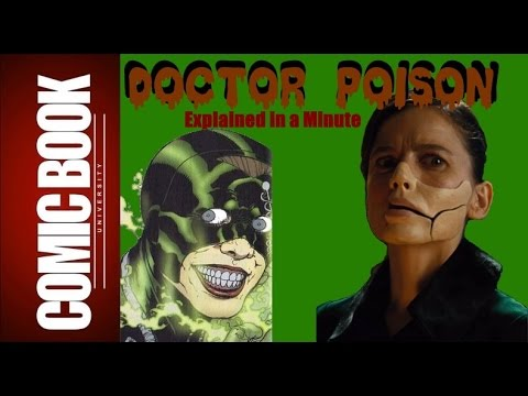 Doctor Poison (Explained in a Minute) | COMIC BOOK UNIVERSITY