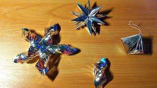 Не Выбрасывайте Чайные Пакетики, а Сделайте 7 Классных Новогодних Ёлочных Игрушек