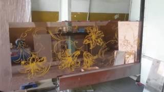 видео Пескоструйные рисунки