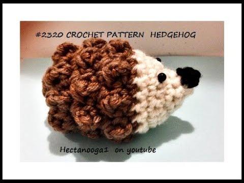 Free Crochet Pattern Hedgehog Softie Doll 2320 Youtube