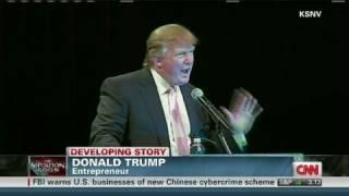 CNN: Donald Trump's profanity tirade, drops the