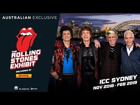 The Rolling Stones Exhibit: Thank You USA! Next stop AUSTRALIA! Mp3