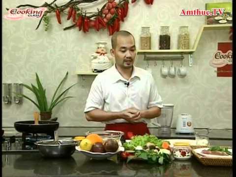 Bò bít tết (Vào bếp cùng sao - Số 16) - amthuc.tv - tapchiamthuc.vn