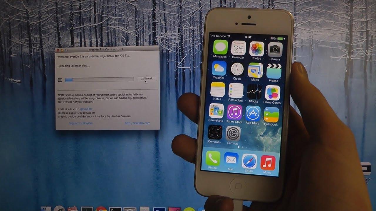 How To Jailbreak iPhone 5 iOS 7.0.4 Untethered Jailbreak ...