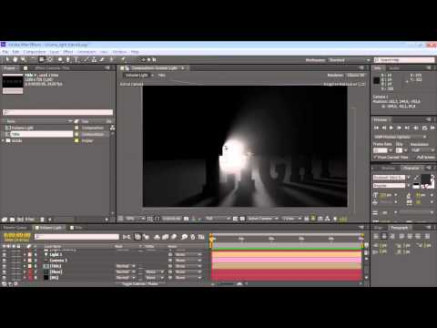 Adobe After Effects - Volume Light Tutorial