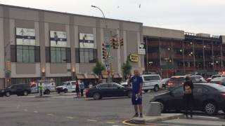 Aftermath of Kings Plaza Mall Shooting in Brooklyn, NY