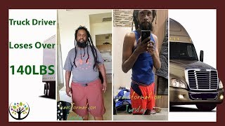 Truck Driver Loses Over 140lbs Water Fasting
