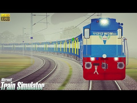 Surat Nagpur Weekly Special Express MSTS Open Rails Full Journey Part 2 || Pardesi Gamer ||