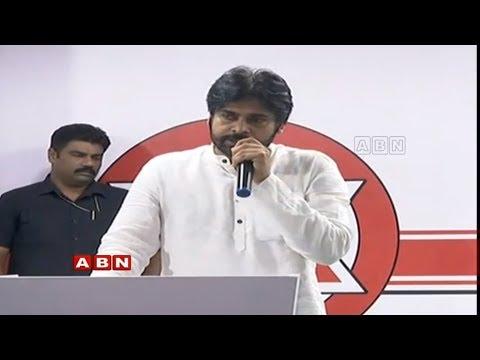 Pawan Kalyan Speech at Vijayawada   Ravela Kishore Babu joins Janasena   ABN Telugu