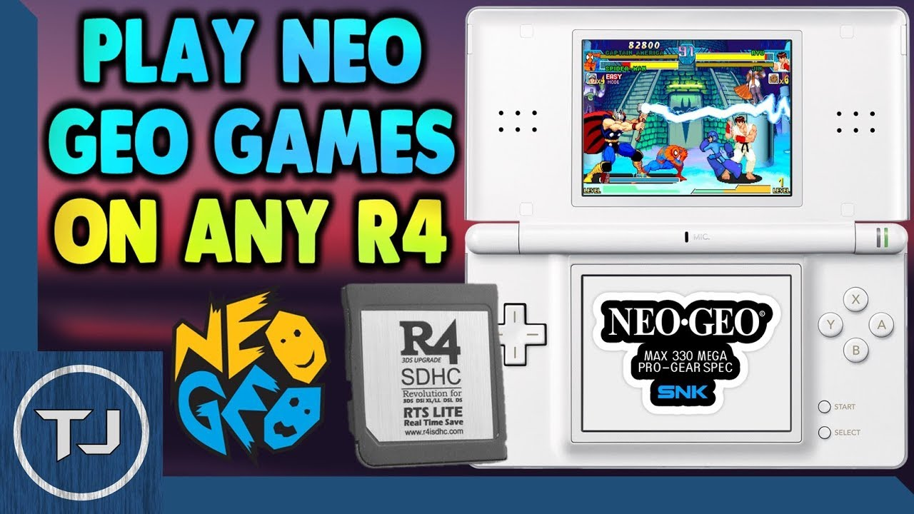 Play Neo Geo Games On Your R4 Card!