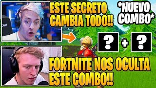 TFUE *DISCOVER* NEW SECRET COMBO IN FORTNITE! 😱 NINJA PLAY WITH THE MOST FUN TEAM 😂