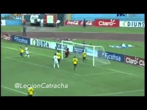 Los goles de Honduras 3 Guayana Francesa 0
