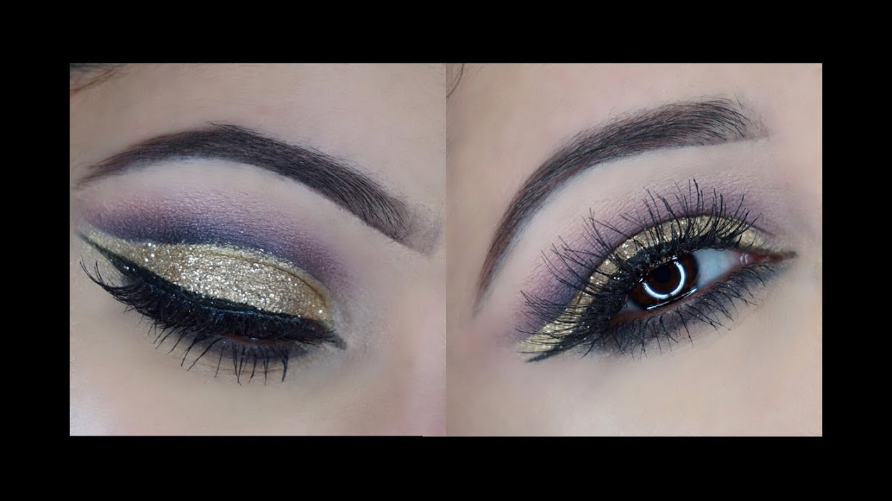 The Easy Way To A Glitter Cut Crease + Updated Contour Routine