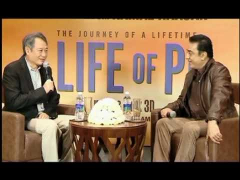 Kamal Haasan Interviews 'Life of Pi' Director Ang Lee (Part 1)