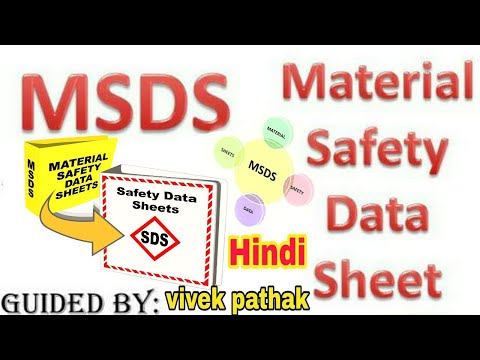 What Is MSDS In Hindi ।। Content Of Msds ।। Chemical Handling Procedures ।। 2019