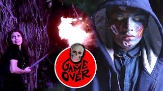 Telugu Lastst Horror Movie Climax Game over Scene   Telugu Cinema