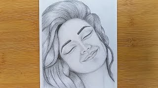 drawing happy easy draw sketch drawings face sketches pencil faces silly sketching