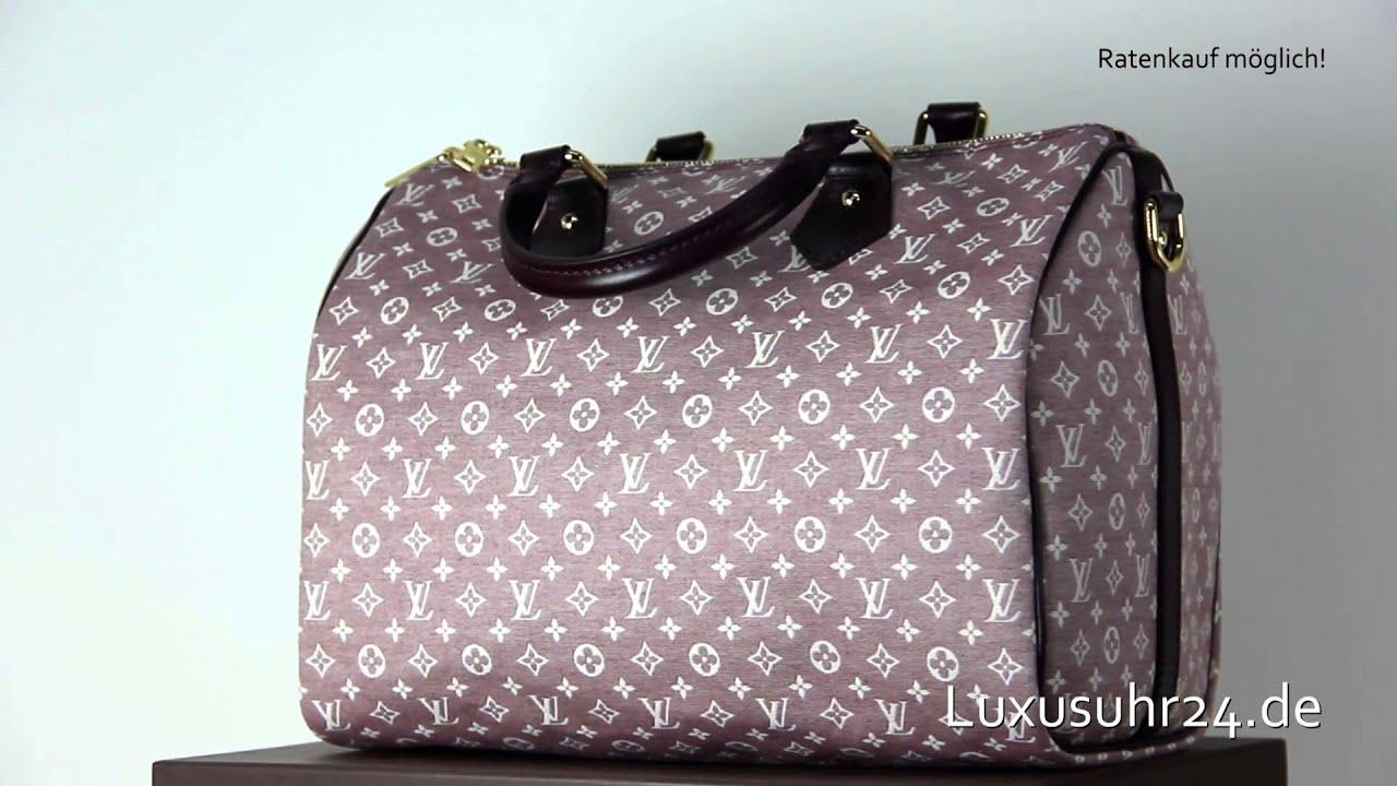 e5d1959e5c21 Louis Vuitton Speedy 30 mit Schulterriemen M56704 Luxusuhr24 Ratenkauf ab  20 Euro Monat