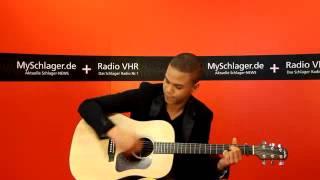 Jesse Ritch - Live Performance im Studio von Radio VHR (Song 1)