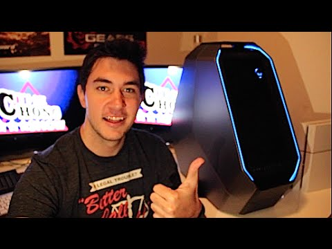 My New Gaming PC! (Alienware Area-51 Unboxing)
