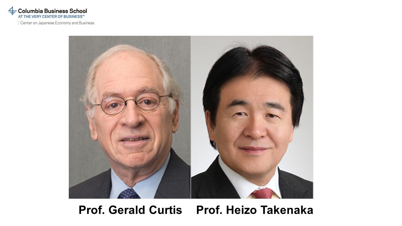 Whither the Suga Administration — a Conversation with Gerald Curtis and Takenaka Heizo