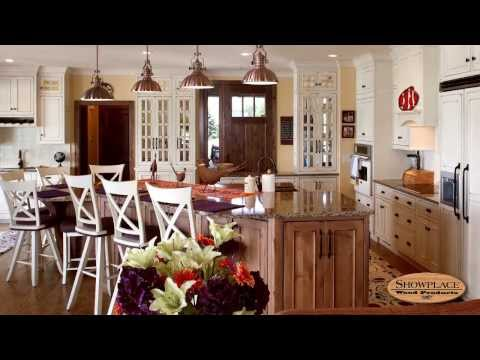 Showplace Cabinetry Throughout This Lakeside Masterpiece Home