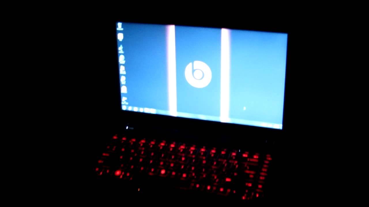 Hp Dm4 Beats Edition Red Backlit Keyboard Demo
