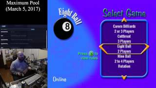 Maximum Pool (March 5, 2017) Sega Dreamcast Online Multiplayer [w/ Commentary]