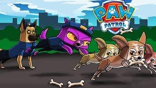 Minecraft - PAW PATROL - Police Dog Saves the CITY! (Paw Patrol in Minecraft)