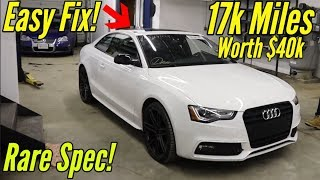 Copart: For $11k I Bought a Salvage 2017 Audi S5 (B8.5) with almost No Damage like Samcrac