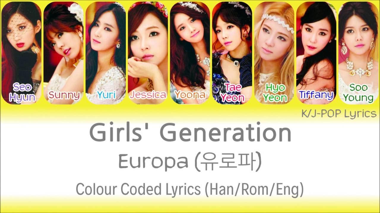 Girls\' Generation – Europa