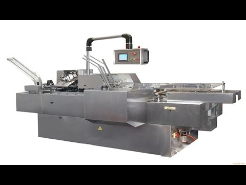 Fully Automatic Encasing Machine For Stationery Box Pack System Manufacturer
