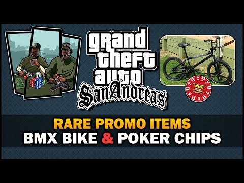GTA SA - Rare BMX & Poker Chips [Forgotten Contests] - Feat. SpooferJahk [ESP subs]