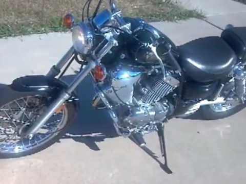 2000 yamaha virago xv535 youtube. Black Bedroom Furniture Sets. Home Design Ideas