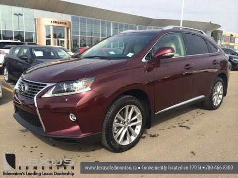 lexus 2014 rx 350 red. 2015 lexus rx 350 awd technology package review red on parchment downtown edmonton 2014 rx d