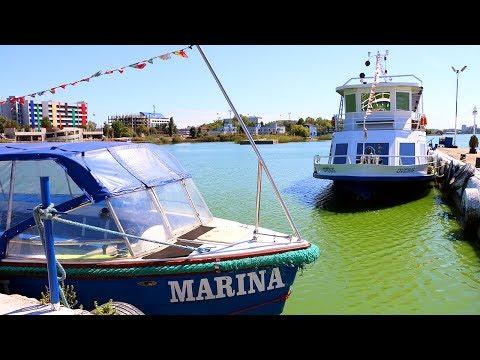 LIVE Transportation by Boat from Mamaia Resort to Ovidiu Island