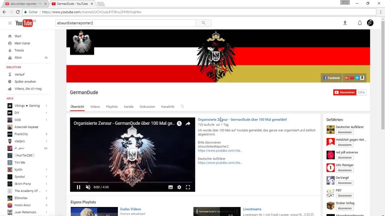 Youtube Löscht Kanäle
