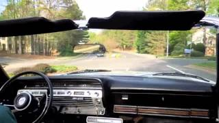 1967 Ford Galaxie 500 XL demo drive