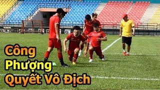 Thử Thách Bóng Đá đi xem Quang Hải , Công Phượng , Văn Toàn và ĐT Việt Nam VS Malaysia AFF CUP 2018