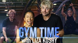 LIZA KOSHY Is My New Workout Buddy  Gym Time w Zac Efron