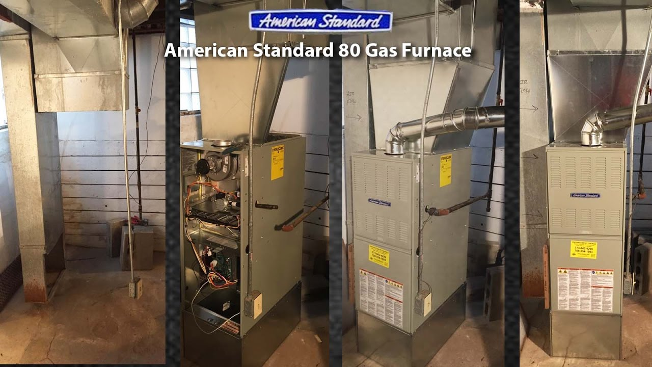 Rheem Criterion Furnace Upgraded To American Standard 80