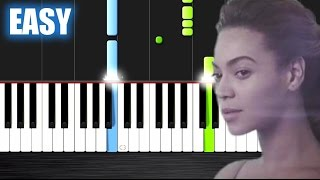 Beyoncé - Halo - EASY Piano Tutorial by PlutaX