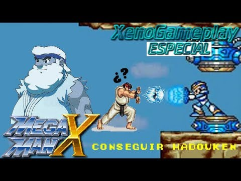 how to get the hadouken in megaman x