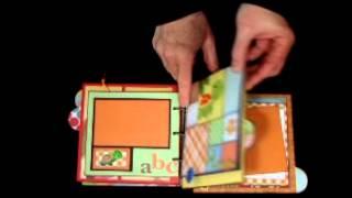 Childrens Favorite Animals II - Custom Handmade Memory Scrapbook