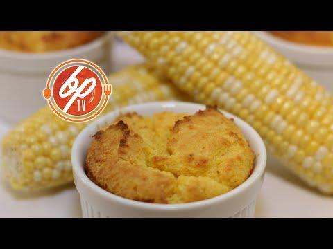 Soufflé Style Cornbread