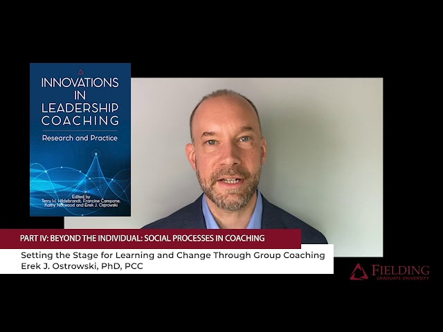 Innovations in Leadership Coaching: Research and Practice | Chapter 12 (Fielding Monograph Series)