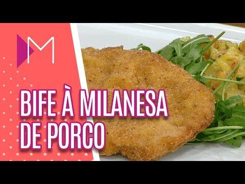 Bife à Milanesa de Porco - Mulheres (16/04/18)