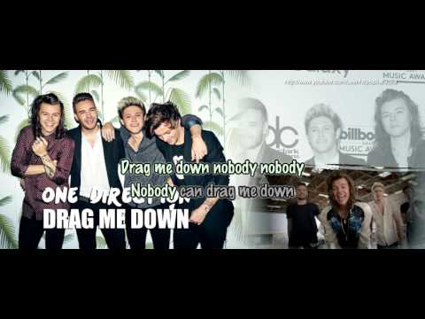 One Direction - Drag Me Down [Karaoke / Instrumental]