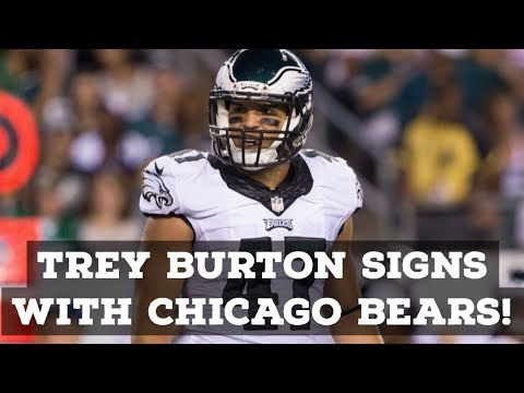 Trey Burton Signs With The Chicago Bears! Full Reaction & Analysis!